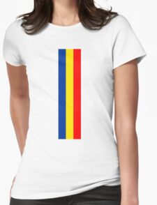 Flag of Ruggell  Womens Fitted T-Shirt