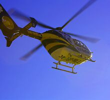 Stat MedEvac Leaving York Hospital by ZASlothower
