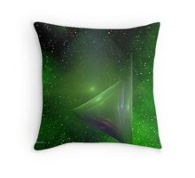 Apophysis IN Space Throw Pillow