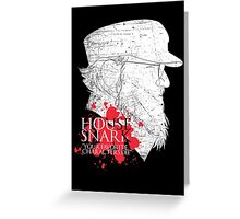 House Snark: Your Favorite Characters Die Greeting Card