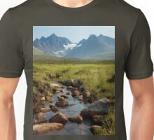 an exciting Norway landscape Unisex T-Shirt