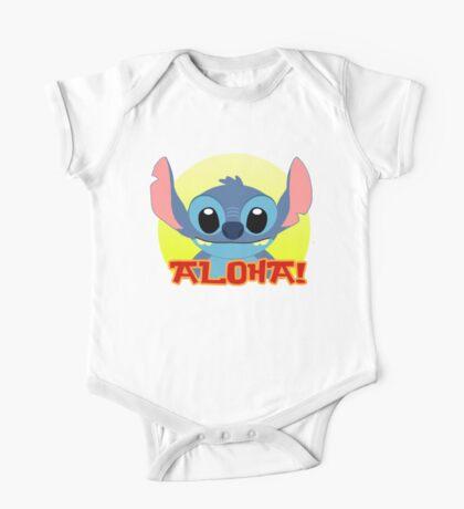 Aloha! Stitch One Piece - Short Sleeve