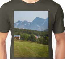 a large Norway landscape Unisex T-Shirt
