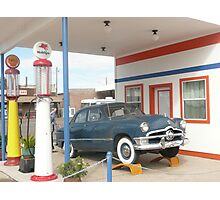 1950 Ford Deluxe 'Tudor'. Photographic Print