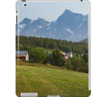 a large Norway landscape iPad Case/Skin
