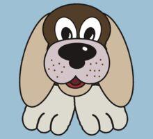 Children's Brown Puppy Dog 3 Kids Clothes