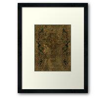Celtic Cross And Celtic Knot Strips Framed Print