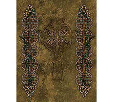 Celtic Cross And Celtic Knot Strips Photographic Print