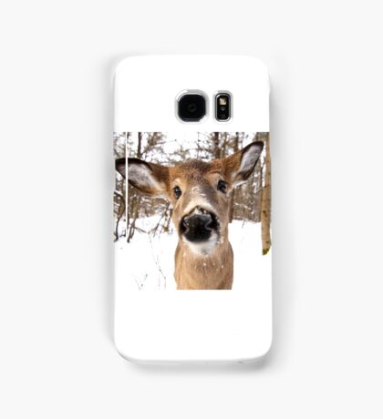 Nosey - White-tailed Deer Samsung Galaxy Case/Skin