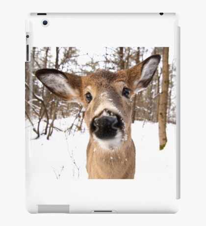 Nosey - White-tailed Deer iPad Case/Skin
