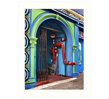 Chinatown Utilities Art Print