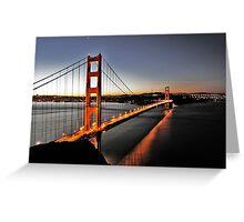 Golden Gate, San Francisco Greeting Card