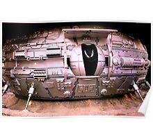 Alien Lander Poster