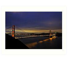 Golden Gate, San Francisco Art Print