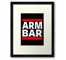 Jiu Jitsu - Arm Bar Framed Print