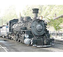 Steam Engine 481 Durango to Silverton, Colorado. Photographic Print