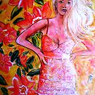"""THAT GIRL THAT DRESS"" by Belinda ""BillyLee"" NYE (Printmaker)"