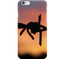 Barbed Silhouette iPhone Case/Skin