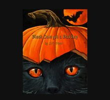 "Black Cats get a Bad Rap - ""Pumpkin Hat"" Unisex T-Shirt"