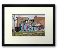 Hotel in Detroit, Michigan Framed Print