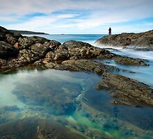 Fingal Bay rock pools by Michael Howard