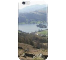 Mountain climbing in the Lakes iPhone Case/Skin