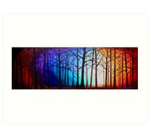 Tangled Trees Art Print