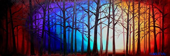 Tangled Trees by Abstract D'Oyley