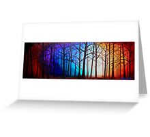 Tangled Trees Greeting Card