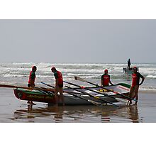 long boats  Photographic Print