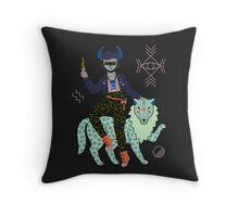 Witch Series: Demon Throw Pillow