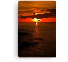 Lizard Point Sunrise  Canvas Print