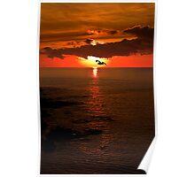 Lizard Point Sunrise  Poster