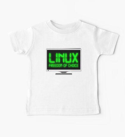 Linux - Freedom Of Choice Baby Tee