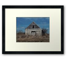 Ypsilanti, Michigan Barn Framed Print