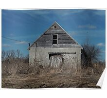 Ypsilanti, Michigan Barn Poster