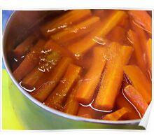 Glazed Carrots Poster