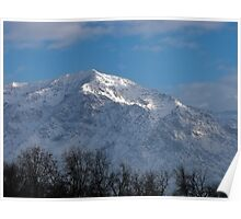 A Winter's Morning ~ Ben Lomond Peak, Utah Poster