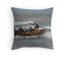 heading in  Throw Pillow
