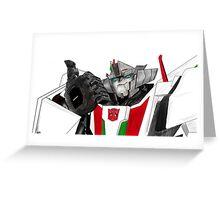 Transformers Wheeljack  Greeting Card