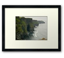 May you always have walls for the winds... Framed Print