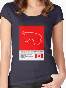Mosport Park - v2 Women's Fitted Scoop T-Shirt