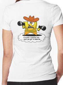 Sensitive Soul Women's Fitted V-Neck T-Shirt