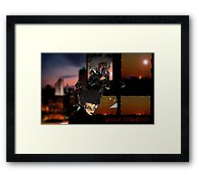 The Books of Najah  Framed Print
