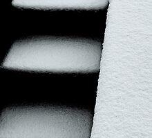3 snowed steps by Luca Renoldi