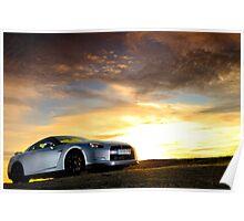Nissan GTR .... Poster