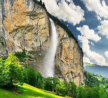 Swiss Waterfall by Mario Curcio