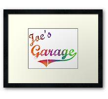 Joe's Garage - Frank Zappa Framed Print