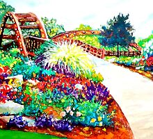 Impressionist Landscape, Midland MI  by HannahTiffinArt