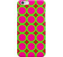 Colorful stylish circle pattern iPhone Case/Skin